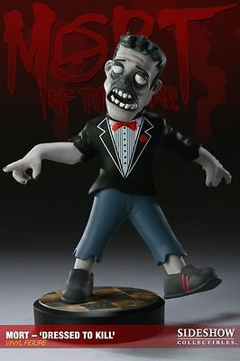 "THE DEAD - Mort 'Dressed to Kill"" 10"" Vinyl Figure (Sideshow Collectibles) #NEW"