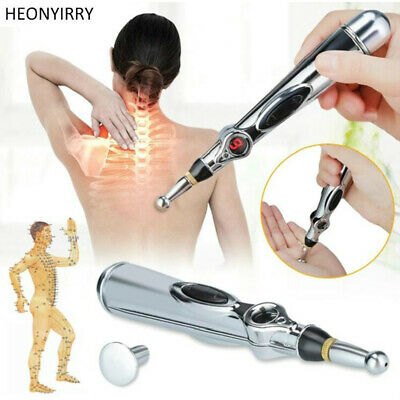 Electric Acupuncture Pen Meridian Energy Heal Massage Pain Relief Therapy Z4X5E