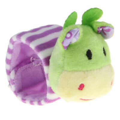 Cartoon Animal Wrist Foot Rattle - Baby Sensory Educational Toy Soft Plush Gift