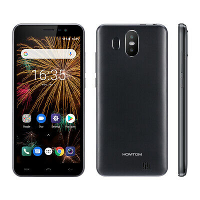 "HOMTOM S17 5.5"" 3G Smartphone 2+16GB Quad Core Android 8.1 Face ID 2 Rear Camera"