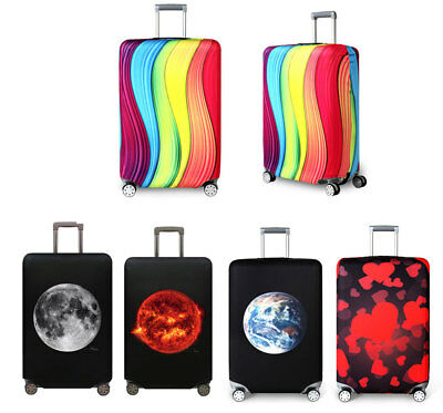 """Luggage Suitcase Elastic Dust Protective Trunk Protector Travel 18""""-32"""" Case Bag"""