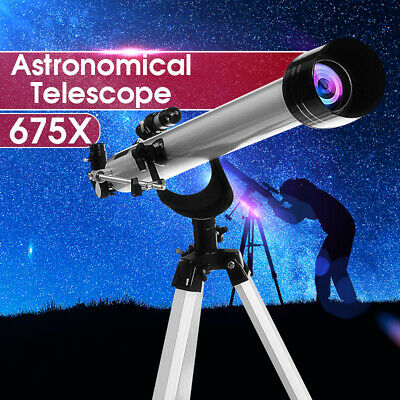 F60900 675x High Magnification Astronomical Refractive Telescope Zoom Monocular