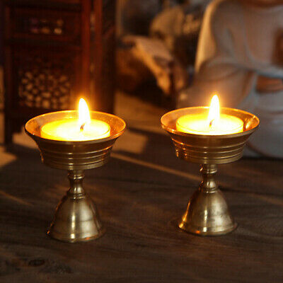 Wedding Candle Holder Retro Alloy Antique Metal Stand Candelabra For Home C