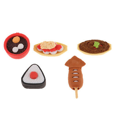 1/6 Miniature Food Sets Simulation Japanese Cuisine Food Sushi Toy Decoratio