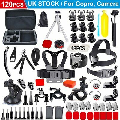 Camera GoPro Accessories Kit Sport Action Camera Mount Full Accessory Set Tripod