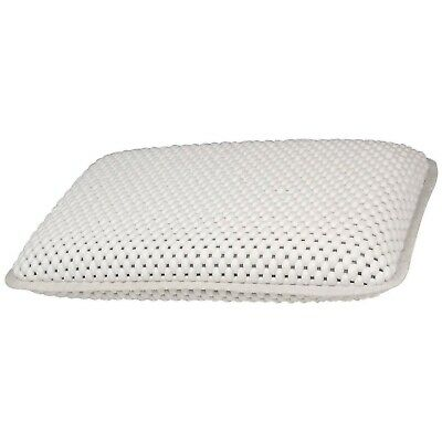 Comfort Waterproof Bath Neck Head Support Pillow with Suction Cups Quick Drying