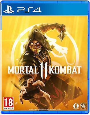 PS4 Mortal Kombat 11 New Special Edition 2019 Fighting Game Challenge 2 Players
