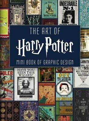 The Art of Harry Potter Mini Book of Graphic Design 9781683834526 | Brand New