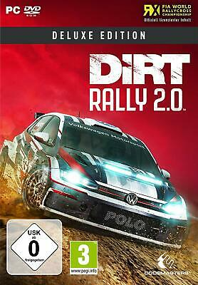 DiRT Rally 2.0 Deluxe Edition for PC !!!!! NEW + OVP !!!!!