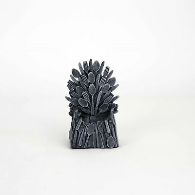 Iron Throne Egg Cup Miniature Replica House TV Game Gift