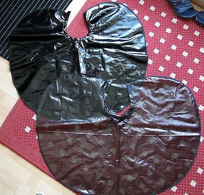 2 PVC/Vinyl  Hairdressing Capes