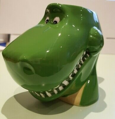 Toy Story 4 Rex Shaped Green Mug 3D Children NEW
