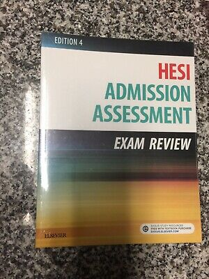 Admission Assessment Exam Review by Hesi (Paperback, 2016) NEW !!!