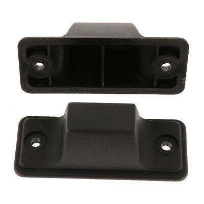 Replacement Part Plastic Luggage Side Stud Foot Feet Pad (Black)
