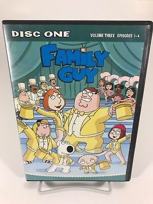 Family Guy - Volume 3 Disc 1 - DVD Disc Only - Replacement Disc