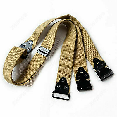 Outdoors Wwii Ww2 Us Thompson Sling Strap Reproduction Khaki Canvas