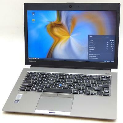 "Toshiba Portege Z30-A 14"" Core i5 2.0GHz 8GB 250GB SSD Laptop Web Cam No Adapter"