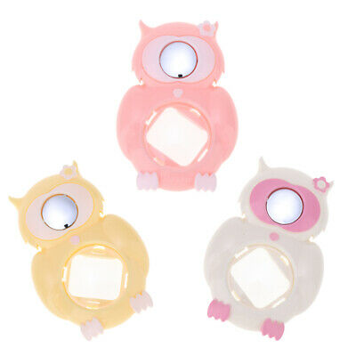 3 Packs Cute Owl Selfie Close Up Lens Mirror for Fuji Instax Mini 8/9/Kitty
