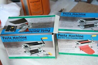 2 new Pasta Machines for Use with Polymer Clay Amaco # 123815