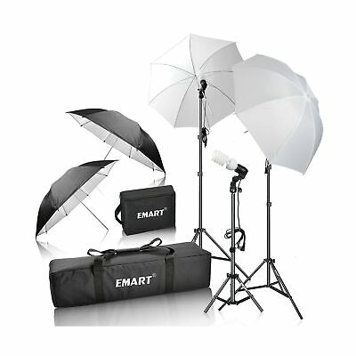 Emart 600W Photography Photo Video Portrait Studio Day Light Umbrella Continu...