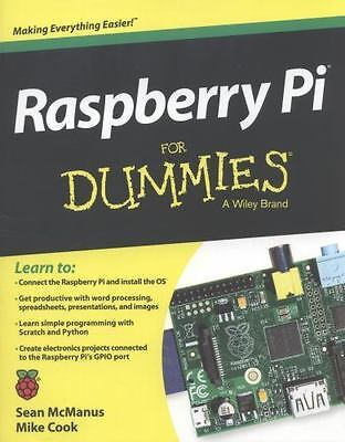 Raspberry Pi For Dummies by McManus, Sean, Cook, Mike