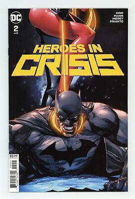 Heroes in Crisis (DC) #2A 2018 Mann Variant NM- 9.2
