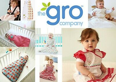 Grobag Baby Girl Boy 0-6 Months Sleeping Bags Tog 1.0 CLEARANCE SALE All $32.95!