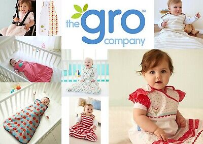Grobag Baby Girl Boy 0-6 months Sleeping Bags Tog 1.0 SAVE $38 CLEARANCE SALE!