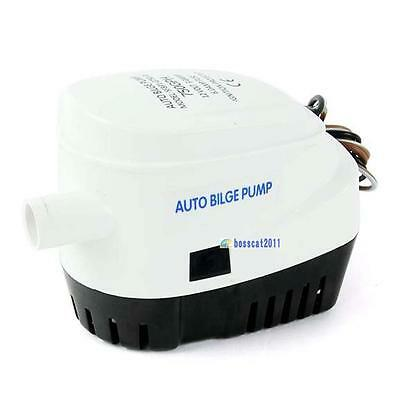 Automatic Submersible Boat Bilge Water Pump 12V 750GPH with Float Switch GA