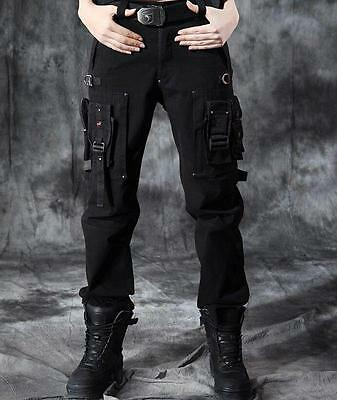 Womens Mens Camo Outdoor tactical Fashion Combat Pants Cargo Military Trousers