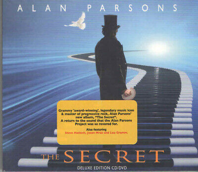Alan Parsons - The Secret - Cd/Dvd New Sealed 2019 Deluxe Edition