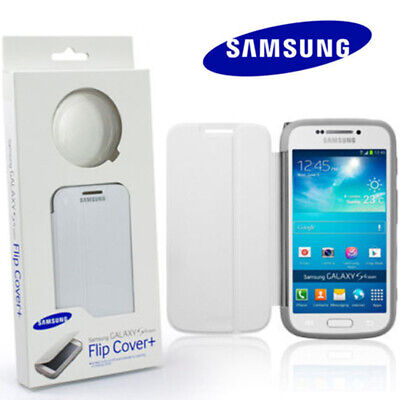 For Samsung Galaxy S4 Zoom C1010 White Flip Case Lens Cover Genuine Retail Pack