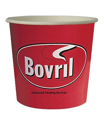 Bovril beefy drink 76mm Kenco Maxpax vending In Cup 7oz Incup Drinks x 375 cups