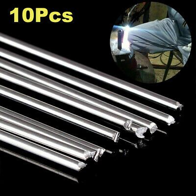 10 Pcs Aluminum Magnesium Easy Melt Welding Rods Low Temperature Solder Wire