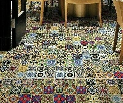 TILE DEALS & SAMPLES Vintage Moroccan Victorian Full Glazed WALL & FLOOR TILES