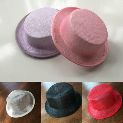 Fascinator Sinamay Base Mini Top Hat Great for making fascinators/party hats