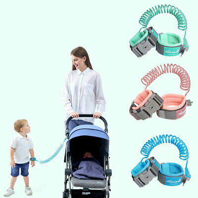 CA Anti Lost WristLink Traction Rope Infant Baby Kid Safety Harness Leash Strap