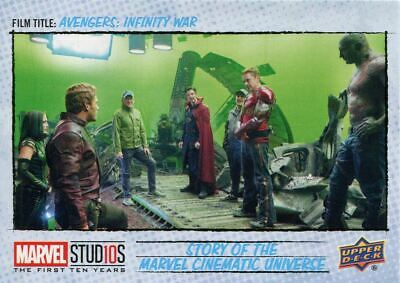 Years Story Of MCU Chase Card MCU3 Captain America 10 Marvel Ten The FA