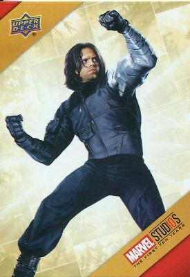 Marvel Ten [10] Years Cinematic Universe Chase Card TU2 Winter Soldier