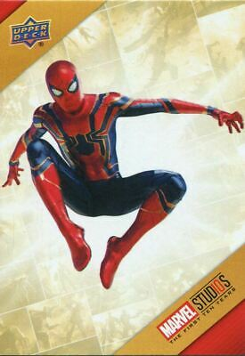 Marvel Ten [10] Years Cinematic Universe Chase Card TU21 Spider-Man