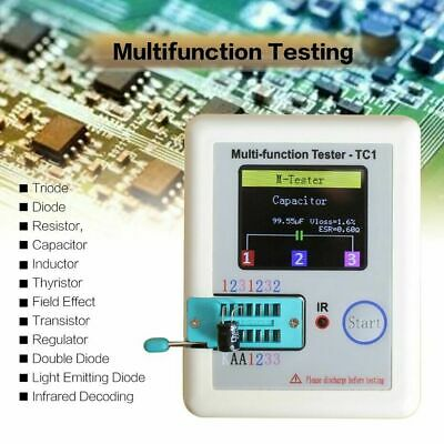LCR-TC1 TFT Display Multi-functional TFT Backlight Transistor Tester Checker Set