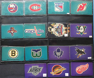 Phone Cards Prepaid Calling Card Mint / GTS NHL Calling Card 27 Complete