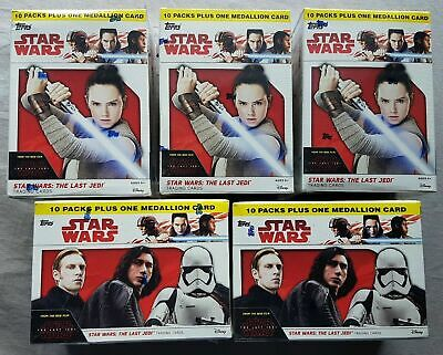 STAR WARS  JOURNEY TO STAR WARS THE LAST JEDI   SEALED PACKETS    CHOOSE