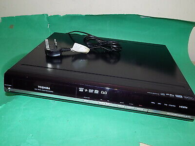 TOSHIBA RD-97DT DVD Recorder with HDD Recording 250 GB Black Freeview FAULTY