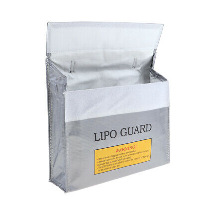 Lipo Battery Guard Bag Large Safe Pouch 240x195x66mm for Charging / Storage