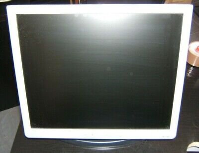 """17"""" Monitor with Tilt, Swivel & Rotate Stand. 100mm VESA, HP 1740  - WITH CABLES"""