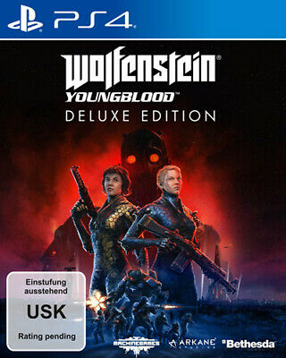 Wolfenstein 2 Youngblood / Deluxe Edition / PS-4 / Neu & OVP /