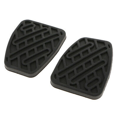 PAIR BRAKE / CLUTCH PEDAL PAD RUBBERS 46531JD00A for Nissan Qashqai