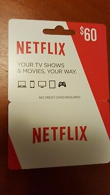 Netflix Gift Card $60 USD 🔥 Discounted 🔥 Fast shipping