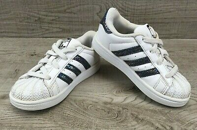 ADIDAS SUPERSTAR SNAKE White Toddler Junior Trainers Shoes